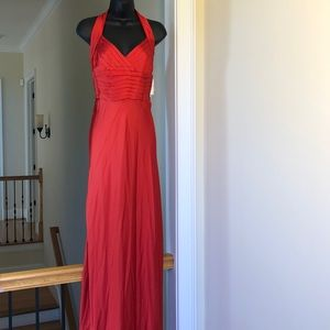 LILIANA sz 14 cayenne gown prom formal dress